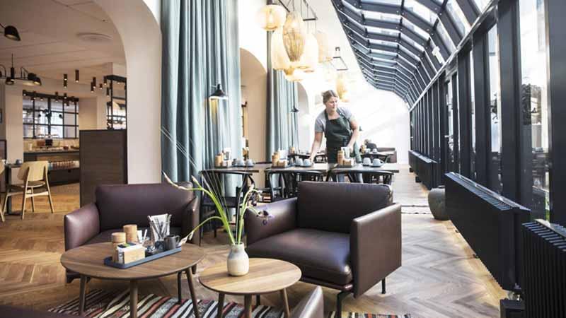 Hotel Kong Arthurs nye morgenmadsrestaurant